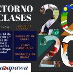 Retorno a clases 2020 Suazapawa